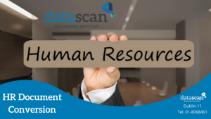 HR document conversion DataScan