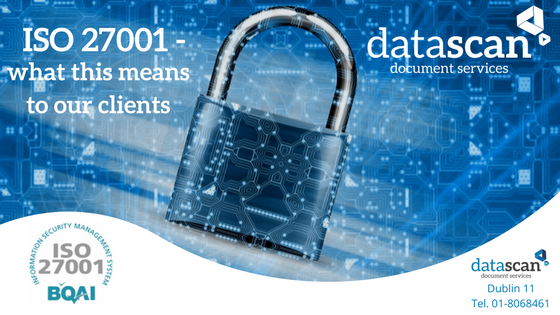 ISO 27001 clients datascan