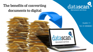 Benefits of Document Conversion DataScan