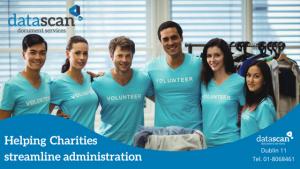 Charity Admin datascan