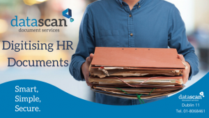 Digitising HR Documents datascan