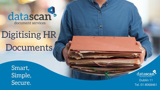 Digitising HR Documents datascan