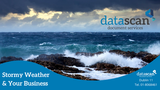 Stormy weather datascan