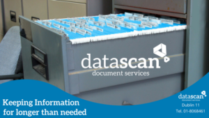 Keeping info longer than needed datascan
