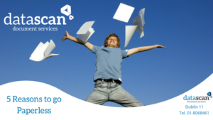 5 Reasons to go paperless datascan