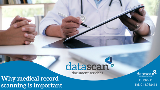 why medical record scanning datascan