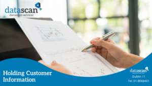 Holding Customer Information datascan