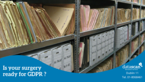 is your surgery ready for gdpr datascan