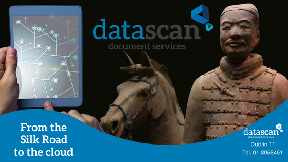 From the silk road to the cloud datascan