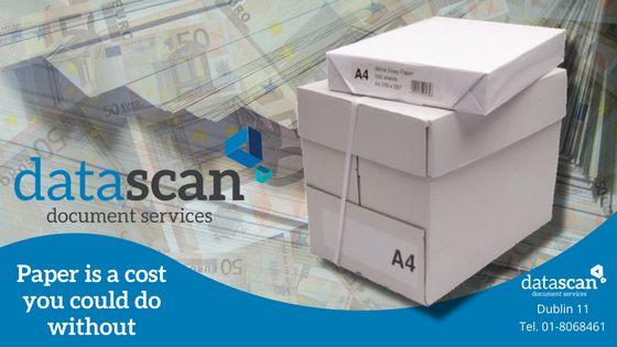 paper is a cost you could do without datascan