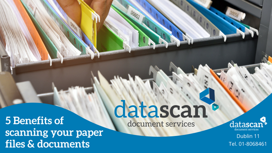 5 Benefits scanning datascan document