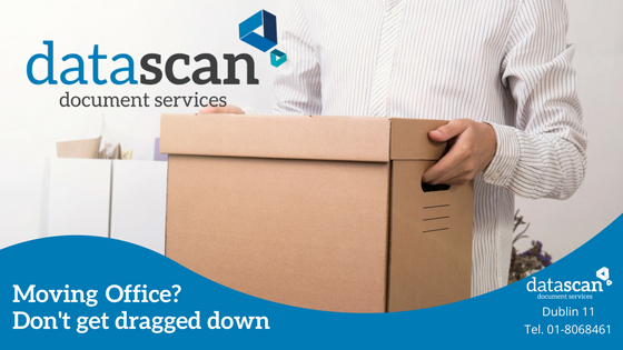 Moving office don't get dragged down datascan