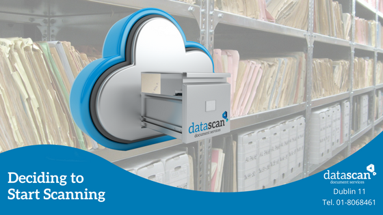 start scanning datascan