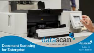 Document scanning for enterprise datascan