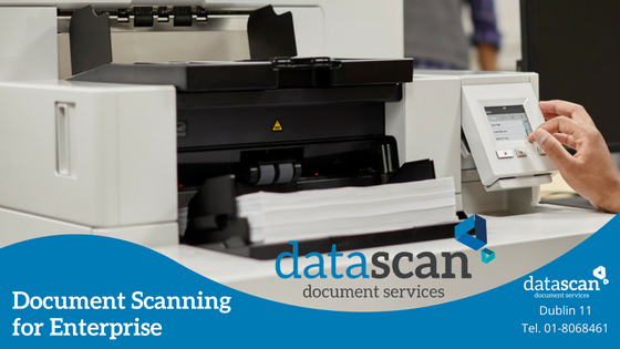 Document scanning for enterprise datascan