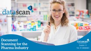 Documnet scanning for the pharma industry datascan