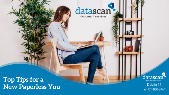 Top Tips for a New Paperless You datascan
