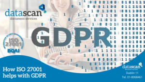 how ISO 27001 helps with GDPR datascan