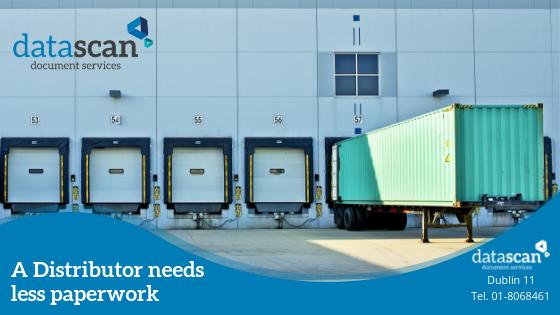 Distributor needs less paperwork datascan