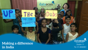 making a difference in India datascan