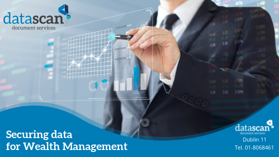 Securing data for wealth management datascan