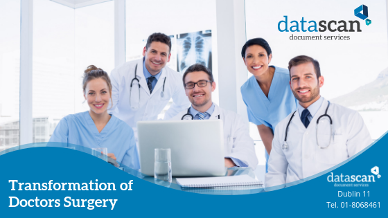 Transformation of doctors surgery datascan