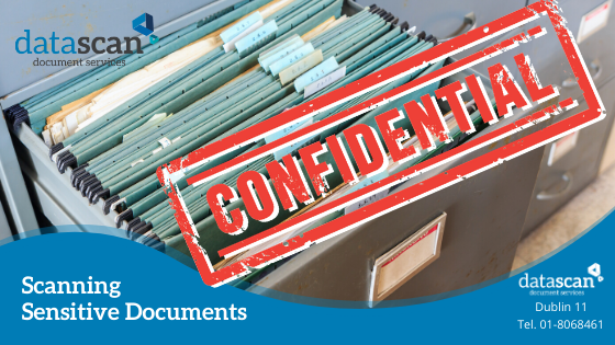 Scanning sensitive documents datascan