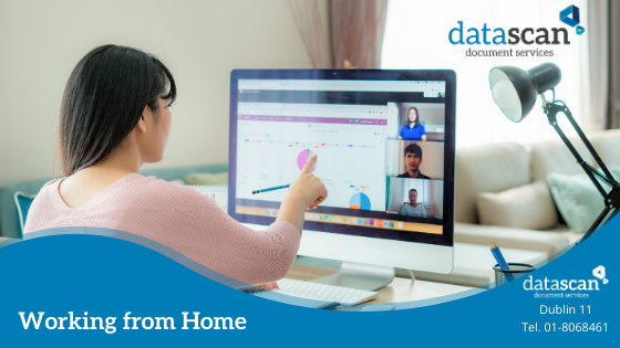 working from home datascan